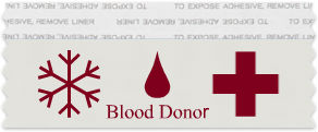Blood Drive Ribbon