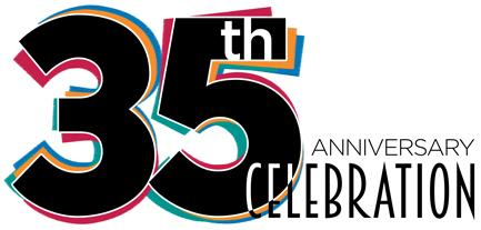 See you at the 35th Anniversary Party!