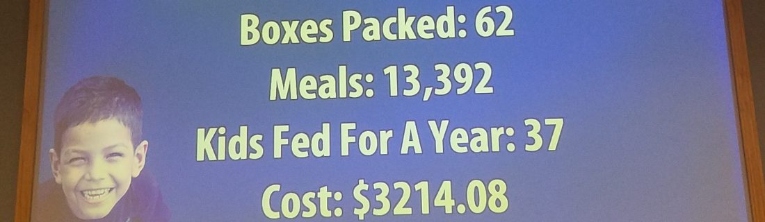Feed My Starving Children – July Packing Event
